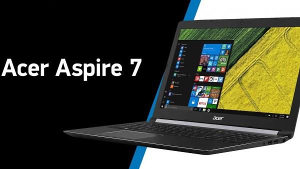 Игровой ноутбук Acer Aspire 7